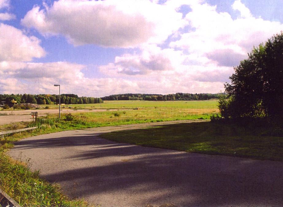 landscape, former airbase