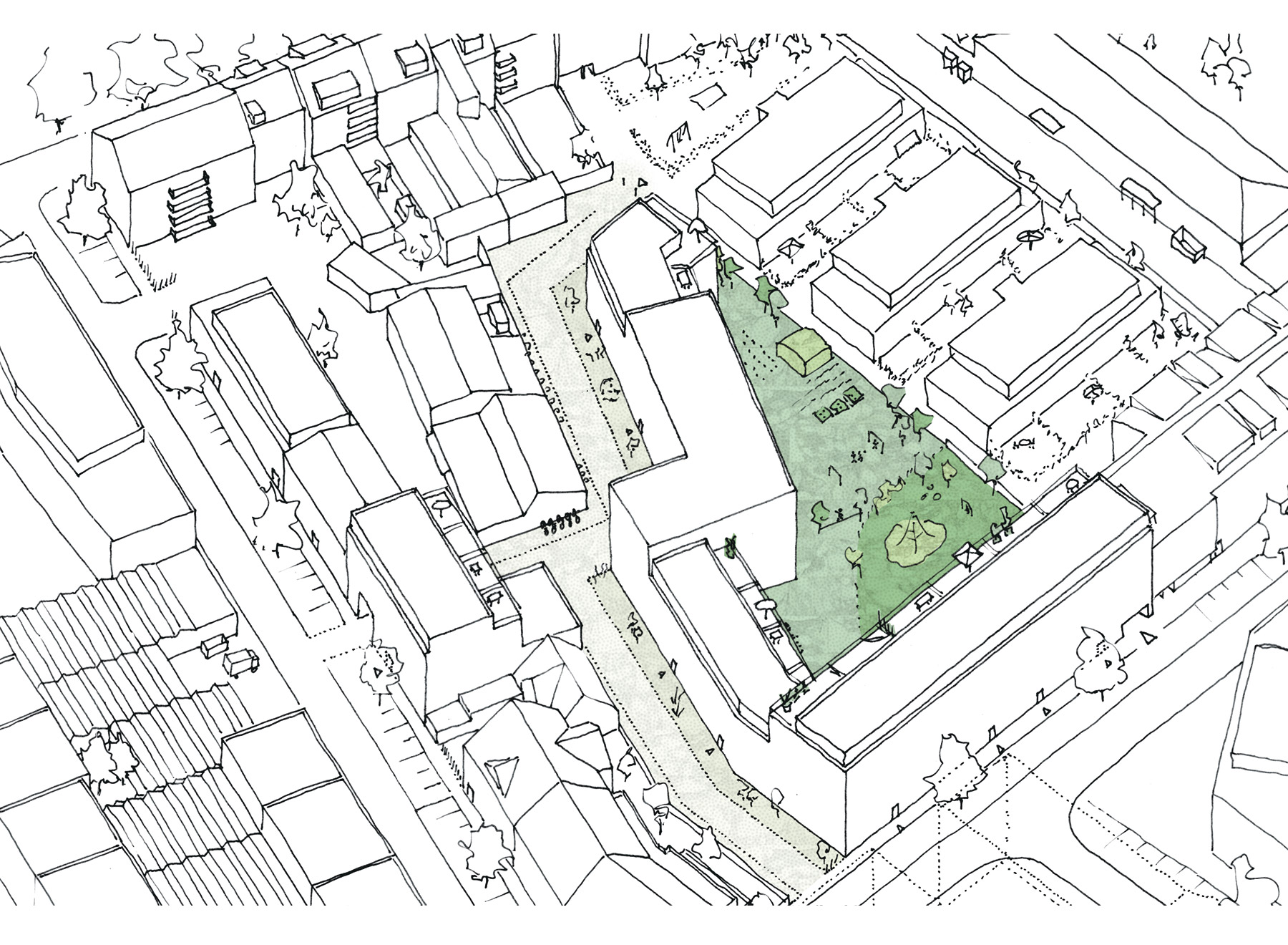 large rear building feasibility study