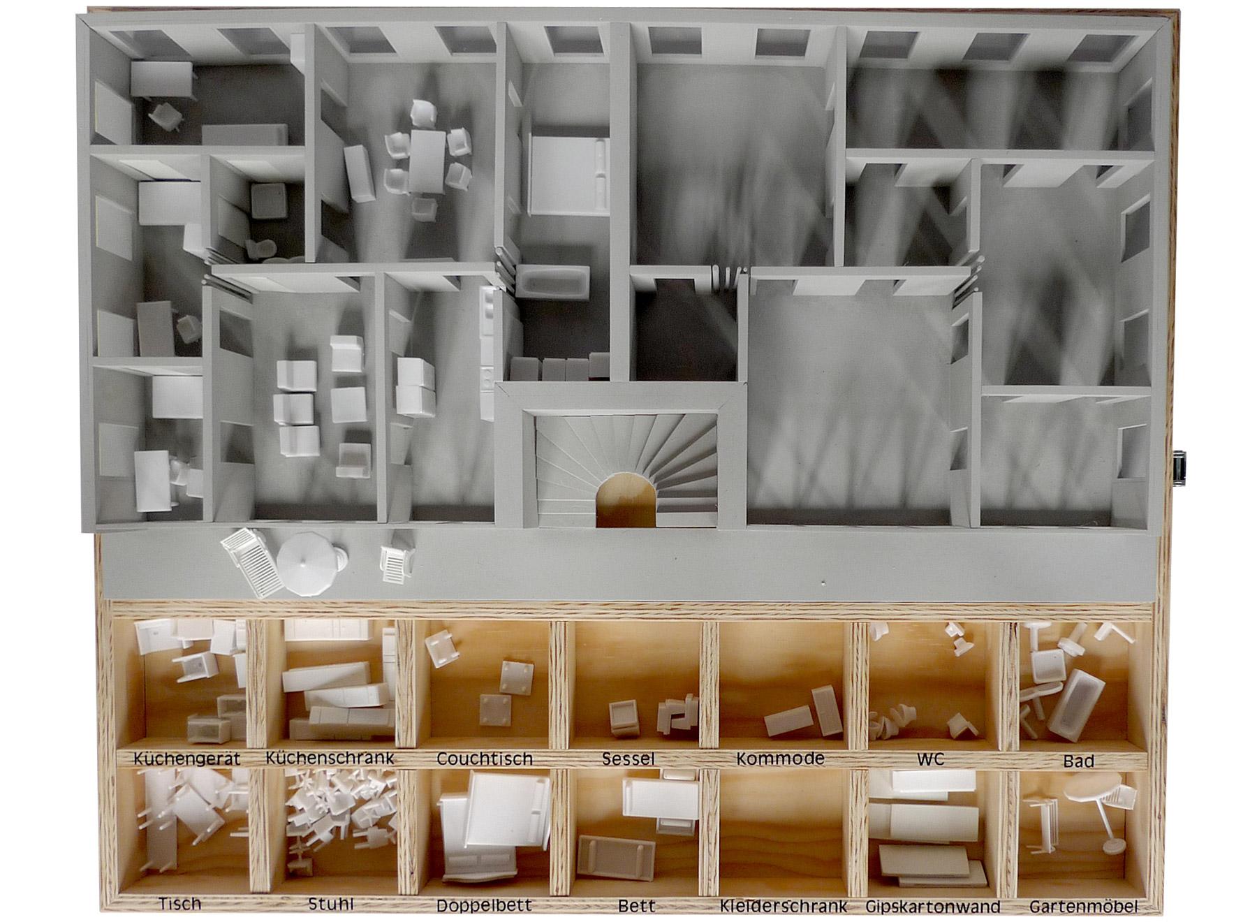 configuration model of neutral floor plan