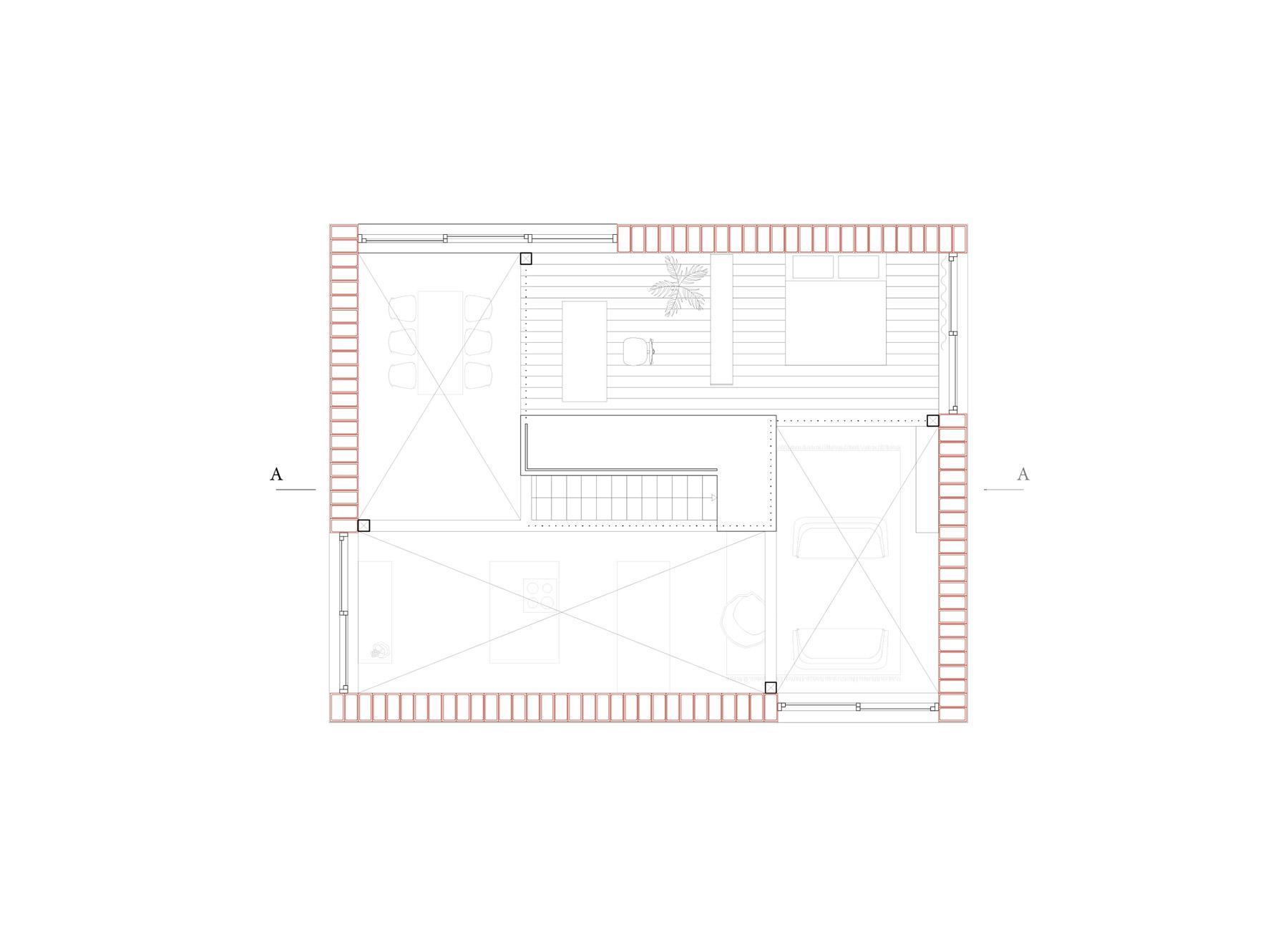 4/8 house, upper floor