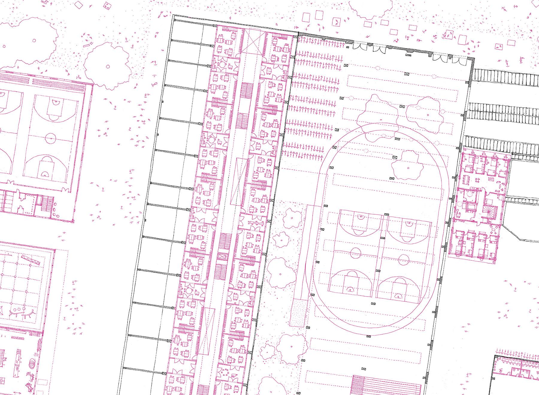 ground floor, zoom plan
