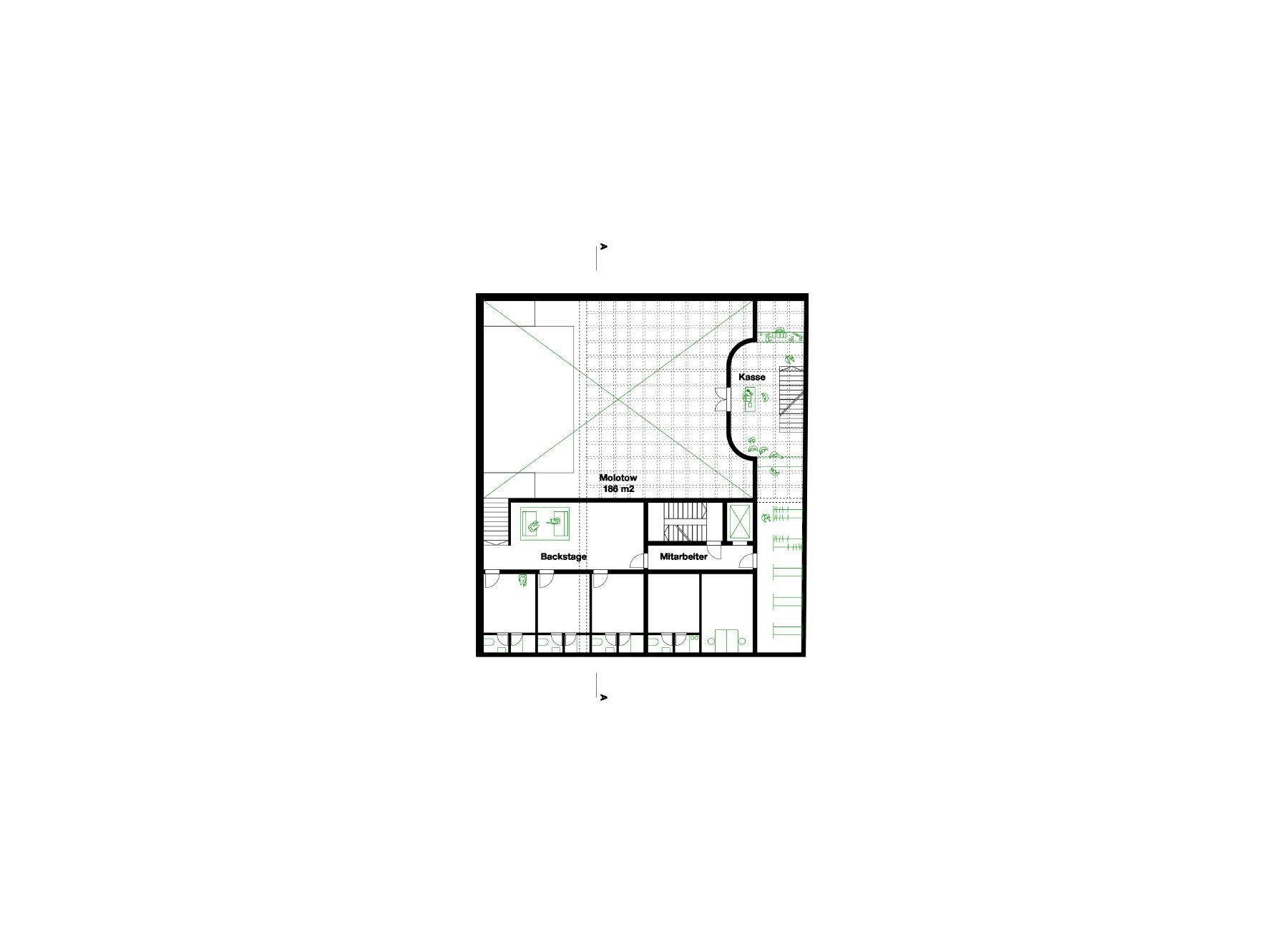 first basement floor