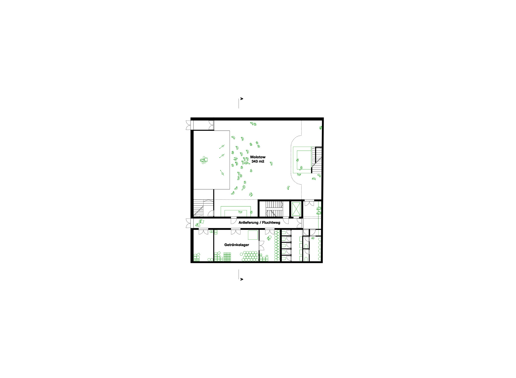 second basement floor