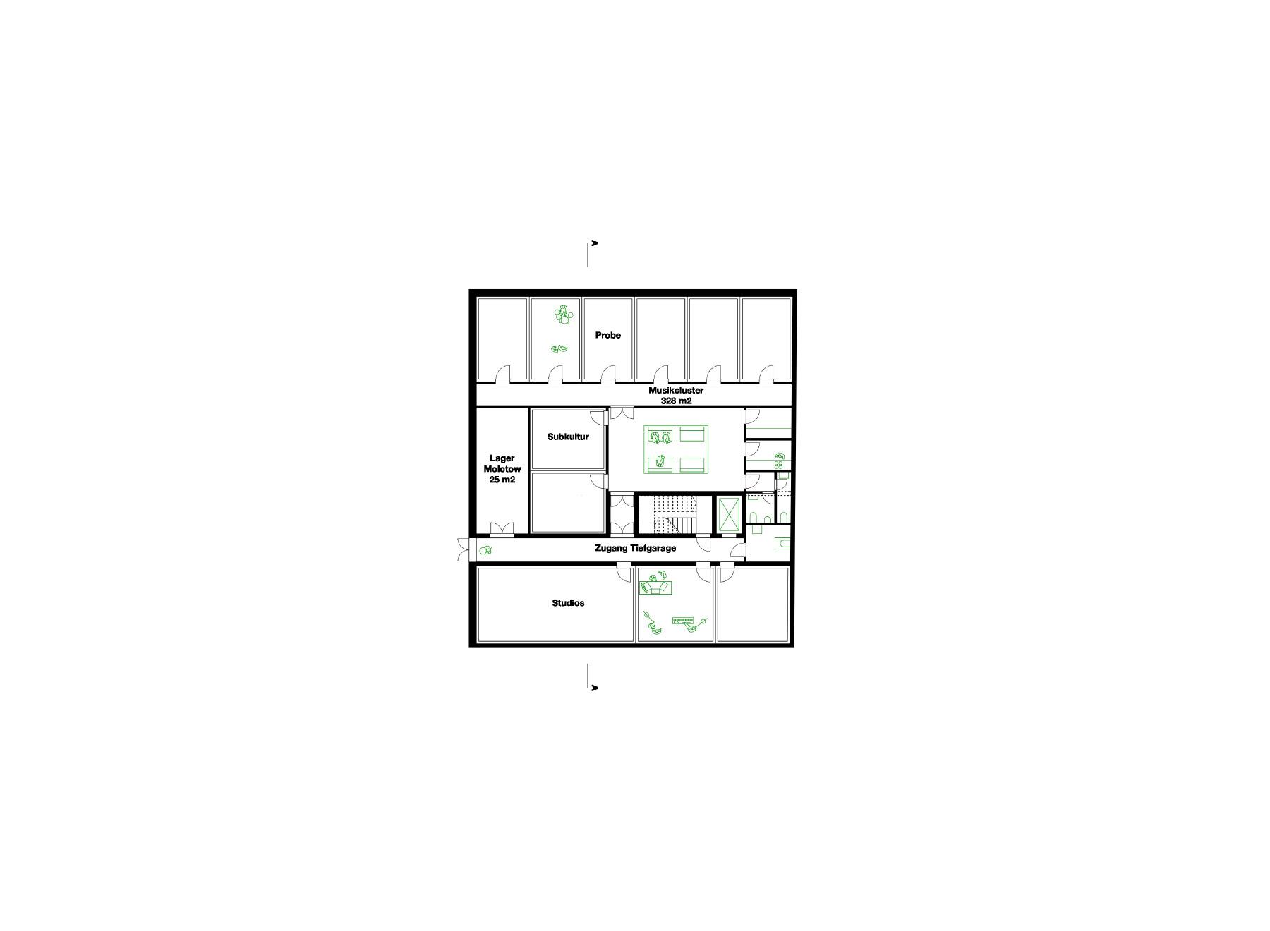 third basement floor