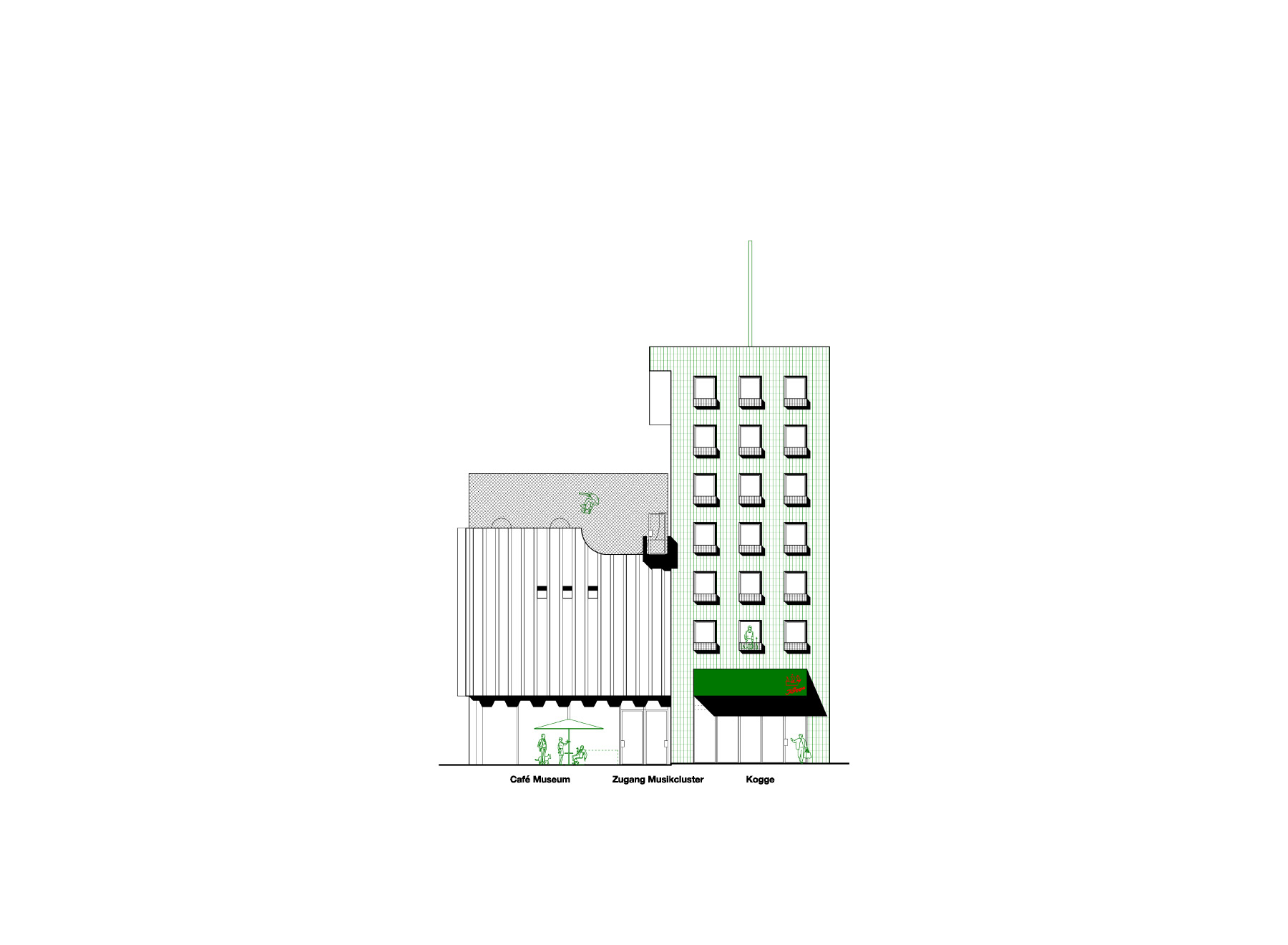 Quartiersgasse elevation