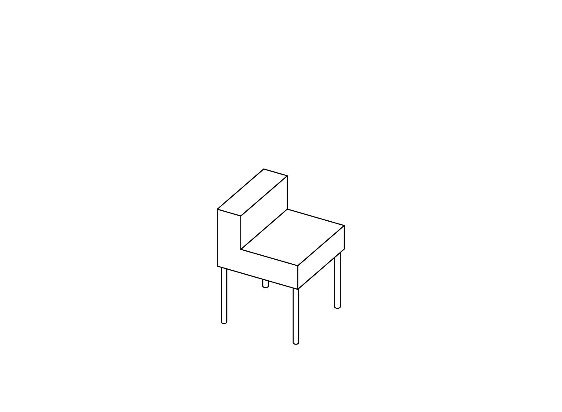 DIN A3 chair
