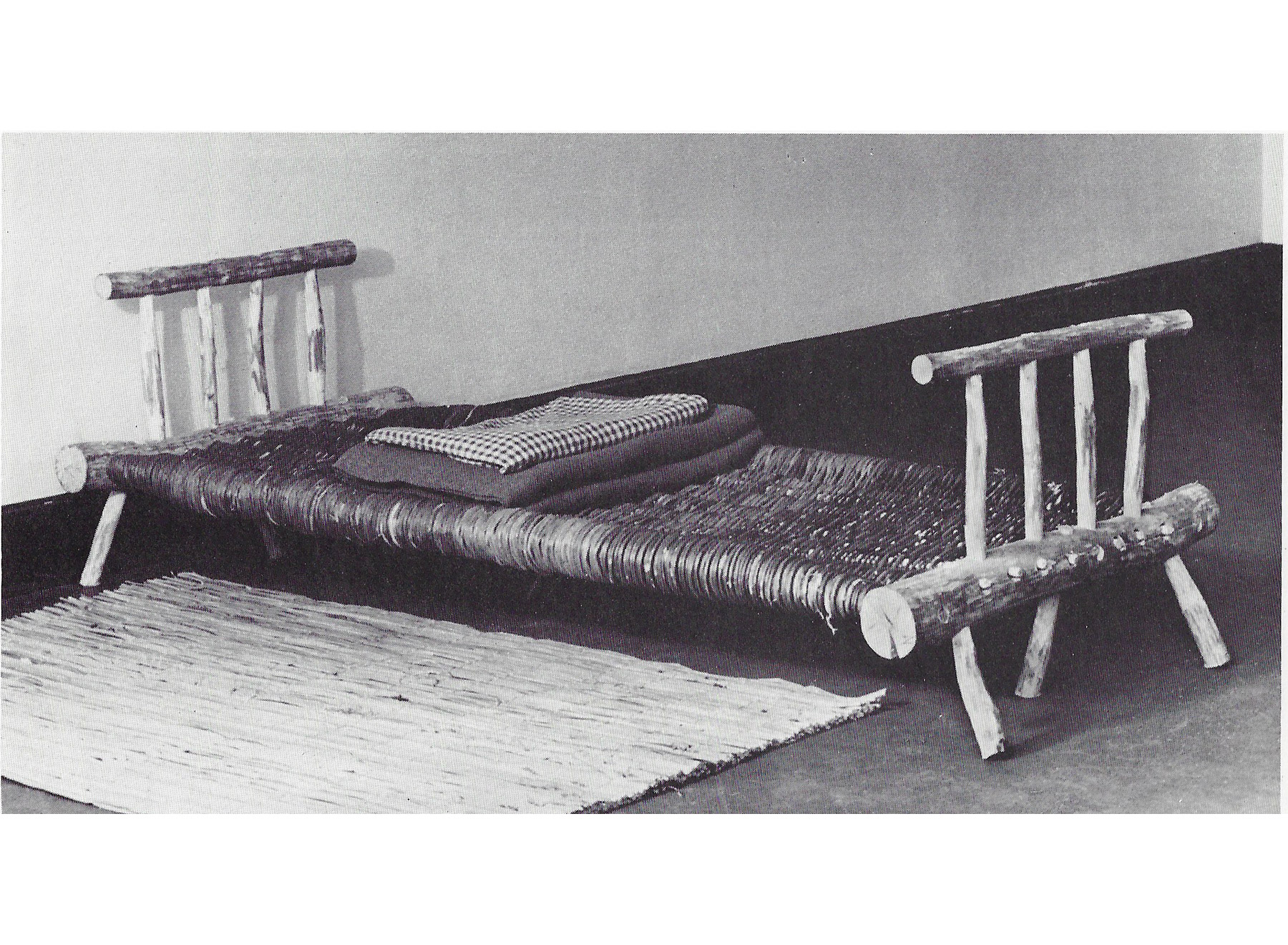 self-built furniture for refugees, manual by Hans Schwippert, 1942