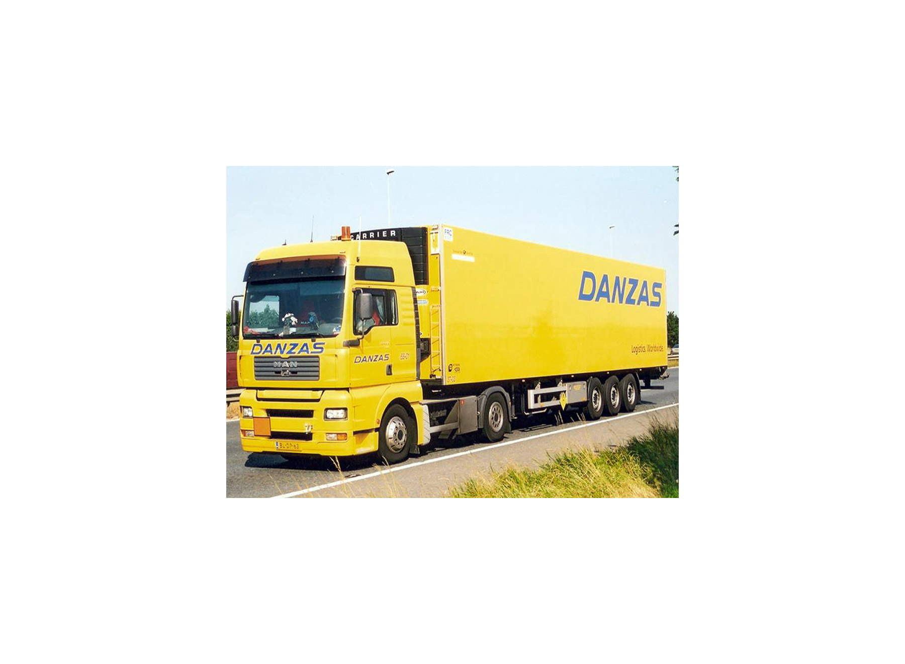 Danzas truck